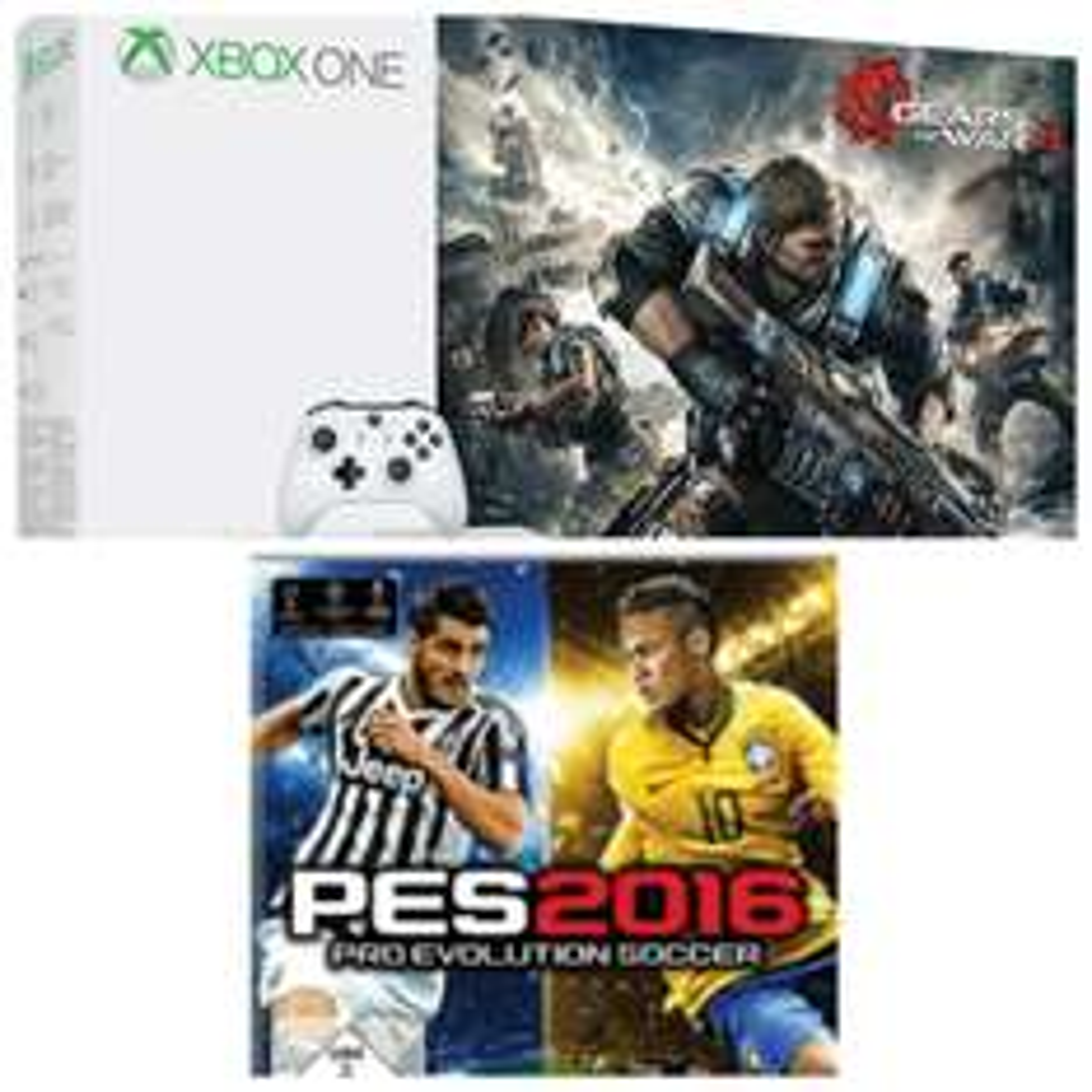Microsoft Xbox One S 1TB + Gears of War 4 (Saturn)