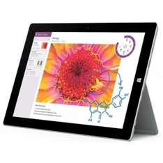 "Microsoft Surface 3, Atom x7-Z8700, 10,8"" Display - 1920x1280 mit Digitizer, 2GB RAM, Windows 8.1 Pro - 305,91€ Rakuten/priceguard"