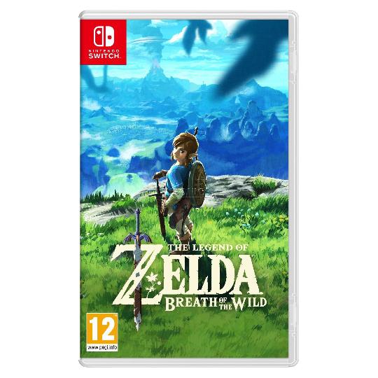 The Legend of Zelda - Breath of the Wild (Switch Version) @ Rakuten.de | ohne Versandkosten