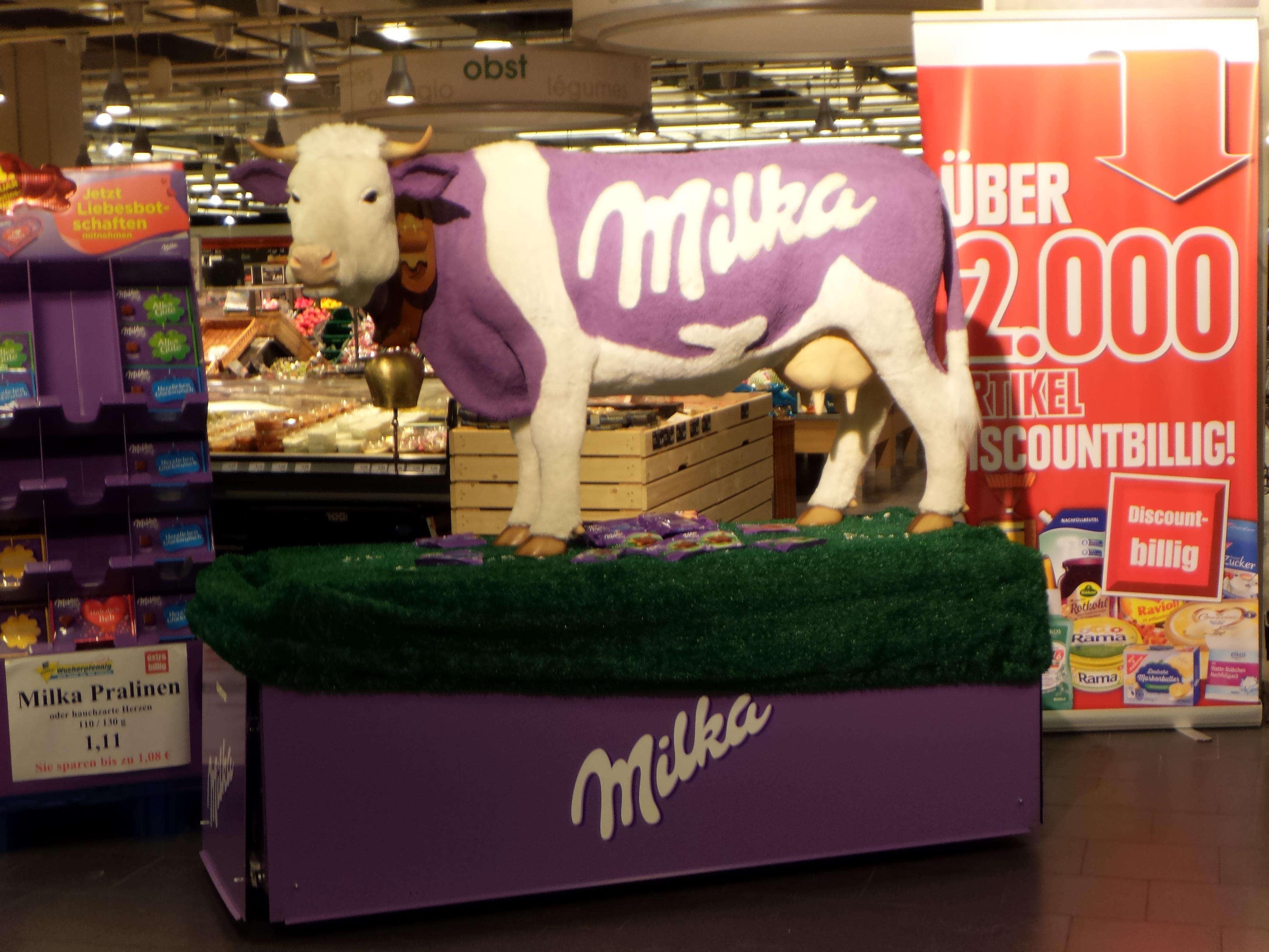 (lokal) Edeka Hannover Ricklingen: Milka Plüschkuh inkl. Schokolade
