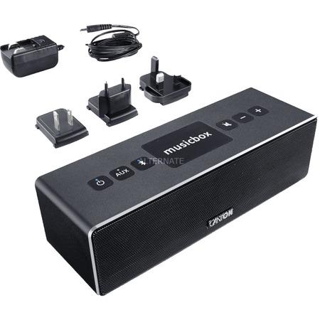 "[ZackZack.de] Canton Portabler Lautsprecher ""musicbox XS"" (schwarz)"