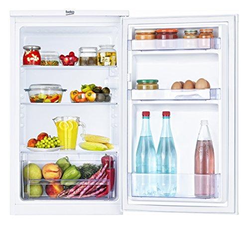 Amazon, Beko TS 190020 Kühlschrank / A+ / 118 kWh/Jahr / Kühlteil: 88 L / Weiß / Unterbaufähig / Glasablagen für 109 €, WHD ab 81,12 €