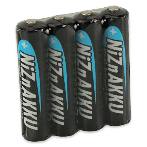 Wieder erhältlich: [Amazon Plus Produkt] ANSMANN AAA Akku Nickel-Zink (NiZn) 900mWh/1,6V - 4 Stk.