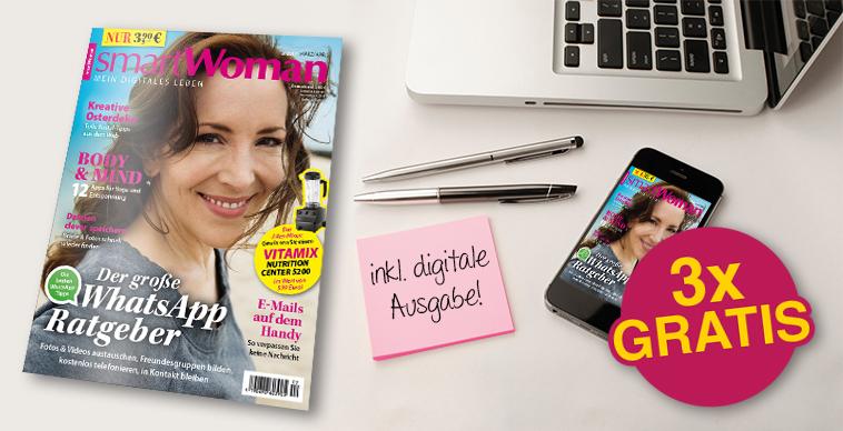 (magclub.de) 3 Ausgaben smartWoman. Kündigung Notwendig