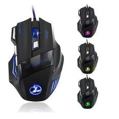 banggood.com 3200 DPI 7 Button LED Optical USB Wired Gaming Mouse