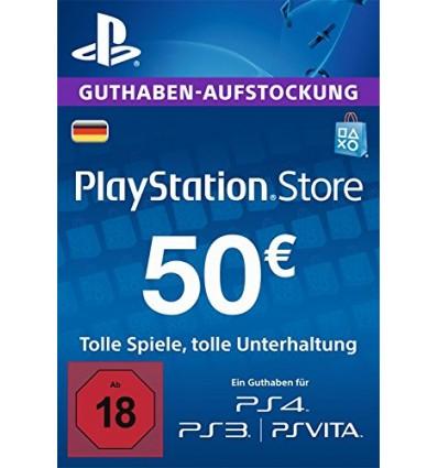 PSN 50 Euro für 42.99