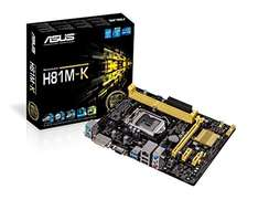 Asus H81M-K (Intel 1150) für 33,22€ @ Amazon.it