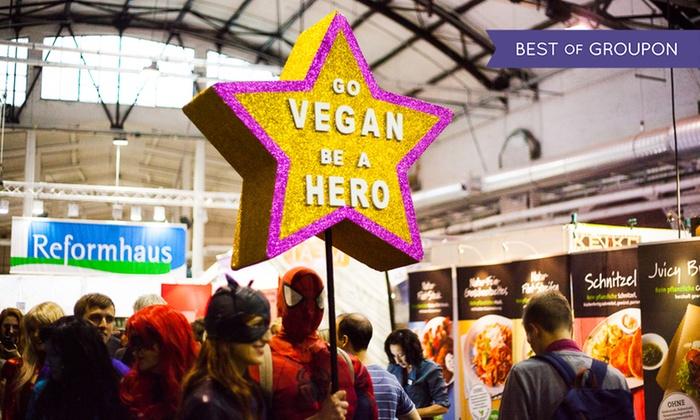 2 Karten für die Veggie-World - Europas größte Vegan-Lifestyle Messe für 15 statt 20 Euro