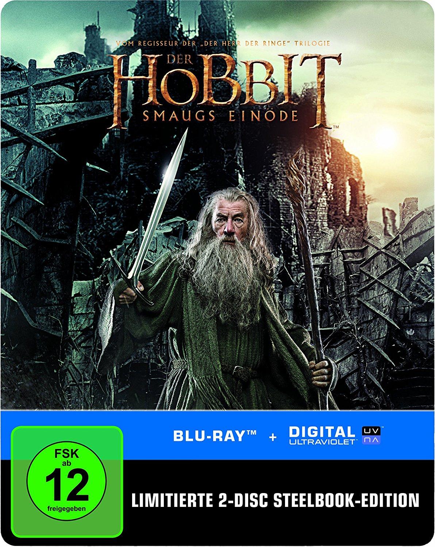 Der Hobbit: Smaugs Einöde Steelbook [2x Blu-ray] für 6,90€ (Amazon Prime)