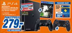 [Lokal Expert] PS4 slim 500GB + 2. Controller + The Last Guardian für 279€