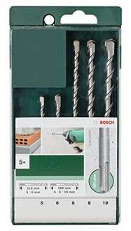 [Prime] Bosch DIY 5tlg. Hammerbohrer-Set SDS-plus