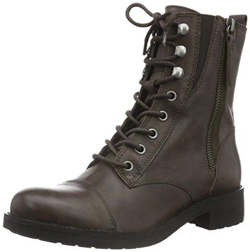 Geox Damen D New Virna A Kurzschaft Stiefel in braun