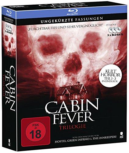 [amazon.de] Cabin Fever 1-3 - Komplettbox mit allen 3 Teilen (3 Blu-rays) 11,99 € inkl.Versand