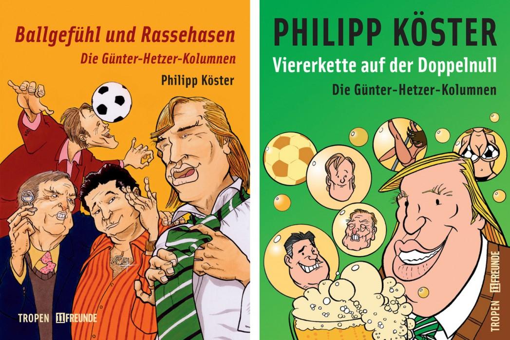 """11Freunde Günter-Hetzer-Kolumnen """"Viererkette auf der Doppelnull"""" für und""""Ballgefühl und Rassehassen"""" @11freunde shop"""
