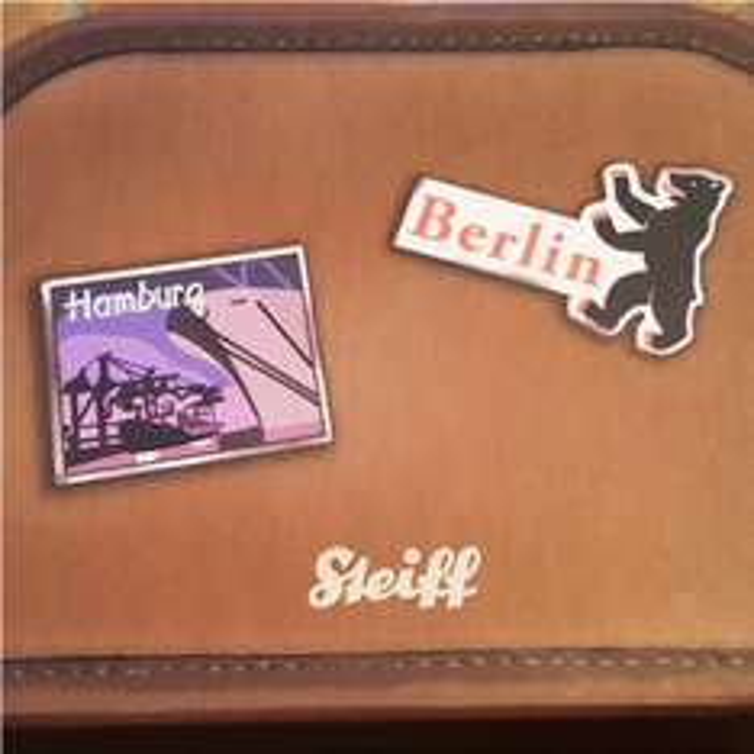 Steiff Kofferbär Städtebär 28cm
