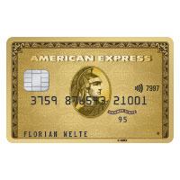 American Express (AMEX) Gold Kreditkarte mit erhöhter KWK Prämie bis max. 200 Euro