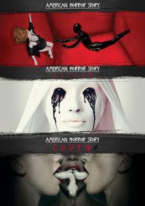 American Horror Story - Season 1-3 mit Englischer Tonspur Blu-ray für 17,85 € und DVD für 14,29€ [Zavvi]
