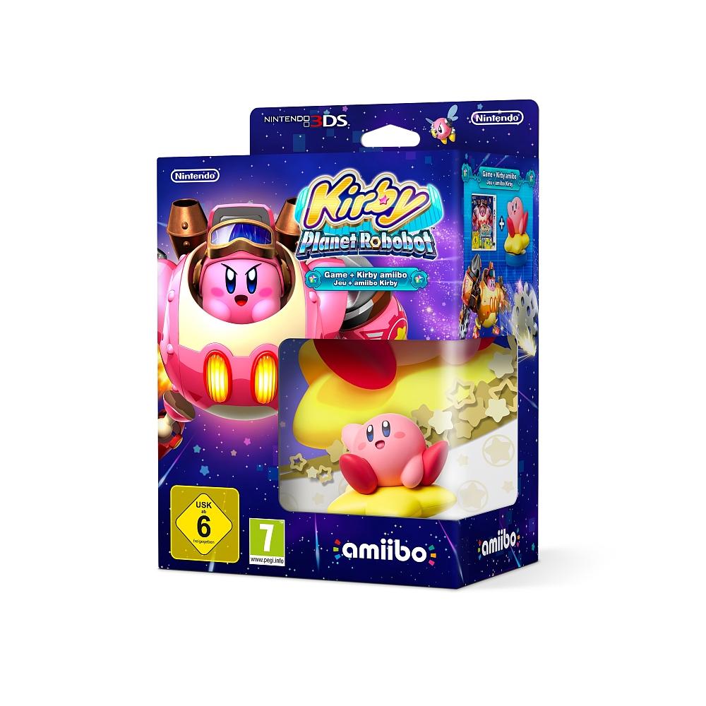 [ToysRUs] Nintendo 3DS Spiel Kirby Planet Robobot + Amiibo für 32,92€ inkl. Versand