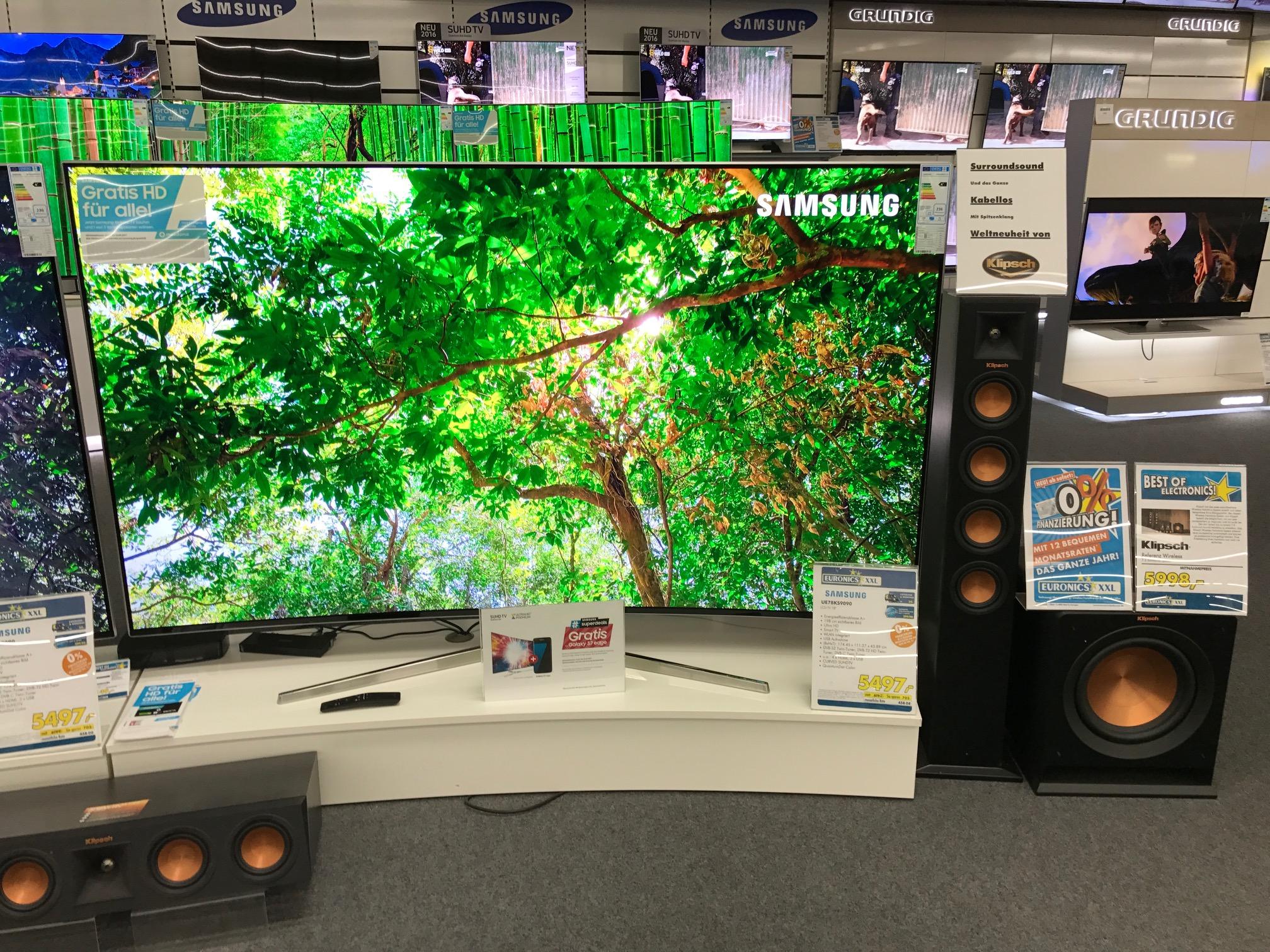 Fernseher Samsung UE 78 KS 9090