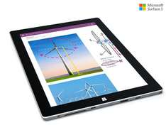 "Microsoft Surface 3 Full HD 10,8"" Tablet 