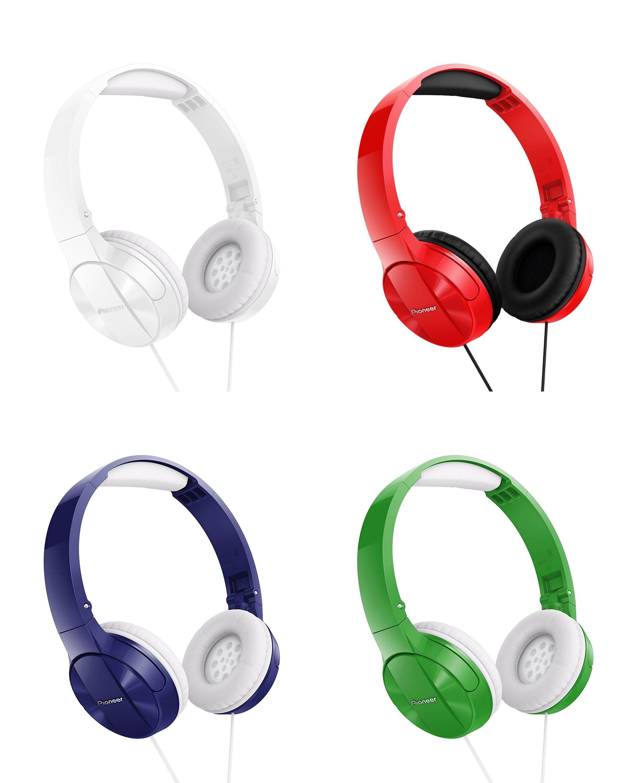 """Pioneer™ -  On-Ear-Kopfhörer """"SE-MJ503"""" (4 Farbvarianten) ab €10,66 [@Zavvi.de]"""