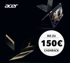 Acer Ultraslim Notebooks Cashback