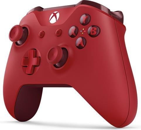 Xbox One S Wireless Controller in rot für 44,10€ [Amazon.es]