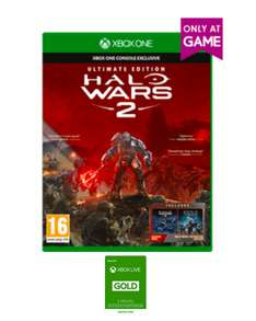 Halo Wars 2: Ultimate Edition (Xbox One) + 3 Monate Xbox Live Gold für 79€ (Game.co.uk)