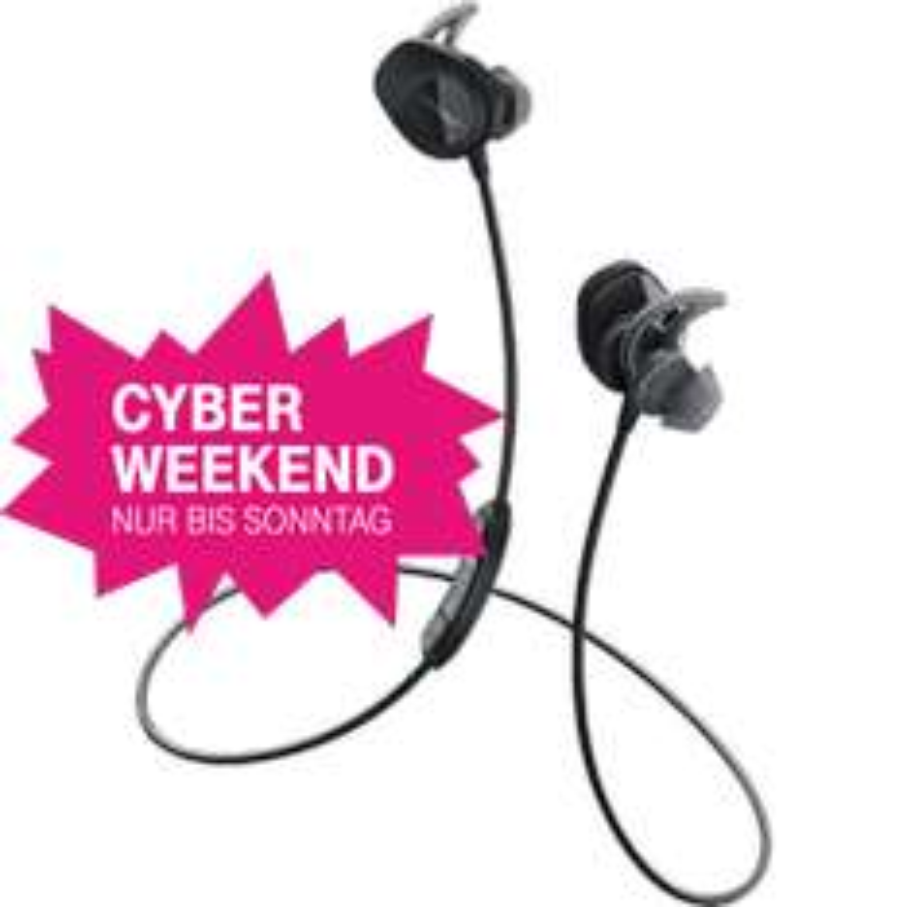 [Telekom Shop] BOSE SoundSport Wireless Headphones Schwarz oder Aqua