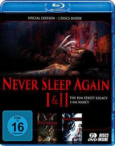 Never Sleep Again 1 + 2 (Blu-ray) für 5,49€ (Amazon Prime)