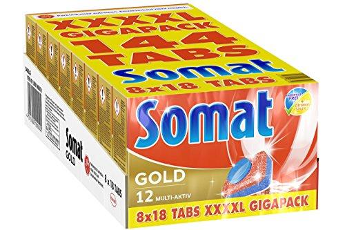 [Amazon] Somat Gold XXXXL 144 Tabs (0,13 €/ Stk)
