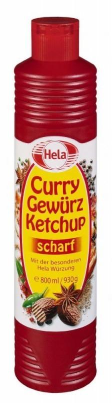 1kg Hela Curry Gewürz Ketchup scharf für den Wahnsinnspreis von 99 Cent bei Netto Marken-Discount