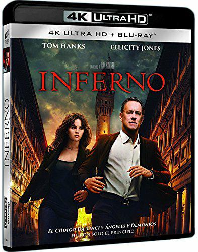 Amazon.es - verschiedene 4K Blu-Rays mit dt. Tonspur im Angebot (z.B. Inferno für 24.49€)