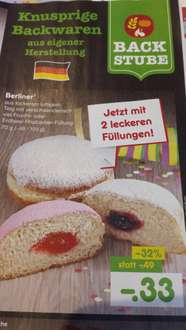 [Netto MD] Berliner 33 Cent