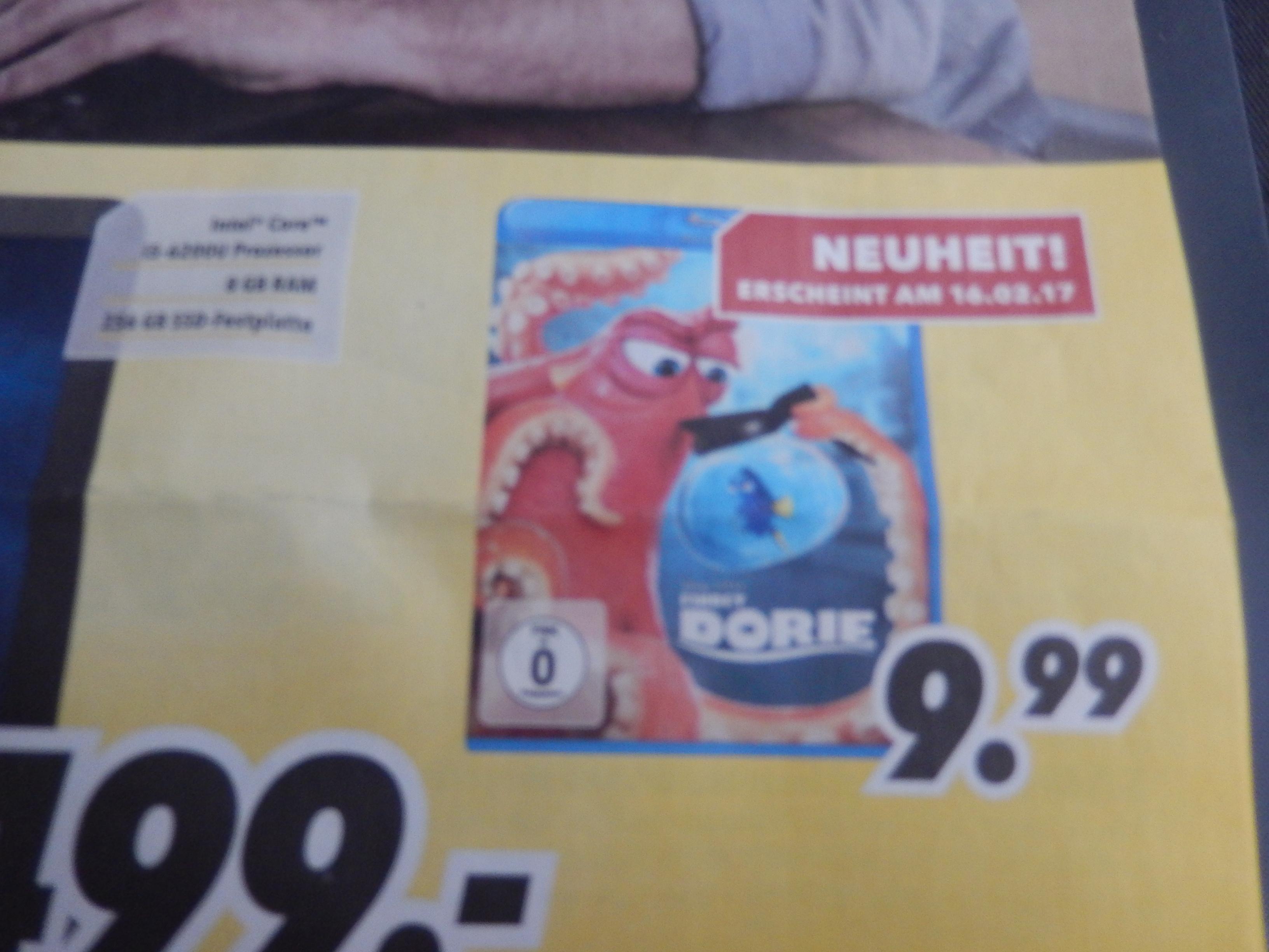 MediMax Hannover eventl. Bundesweit? Findet Dorie BluRay 9,99 ab 20.02