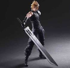 Cloud Strife Final Fantasy VII Remake Play-Arts Kai Figur 151,21€ [Square-Enix Store]