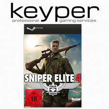 (EBAY) Sniper Elite 4 PC Steam Account