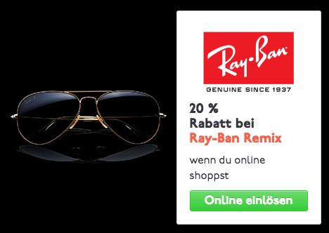 Der Frühling kommt: 20% Rabatt bei Ray-Ban für Studenten!