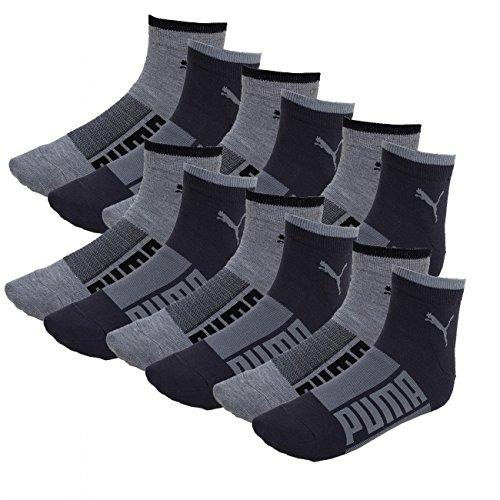 PREISFEHLER ! 12er Pack Puma Quarter Socken Wording für 5,49€ + weitere Socken (s.Info) @ Amazon Marketplace