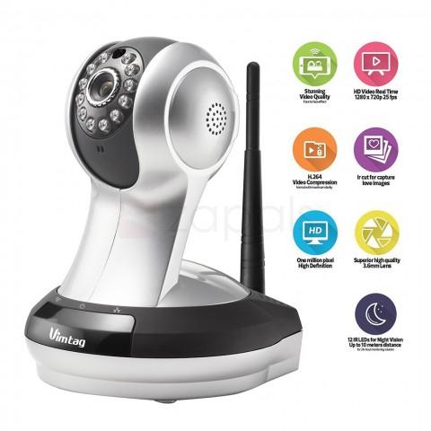 [@zapals] Vimtag VT-361 HD Wi-Fi IP-Kamera in Nachtsicht-Version [+10% shoop]
