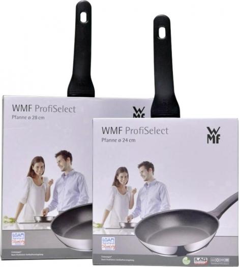 WMF Pfannen-Set ProfiSelect 2-teilig 24 + 28 cm Edelstahl beschichtet für 66€ [Voelkner]
