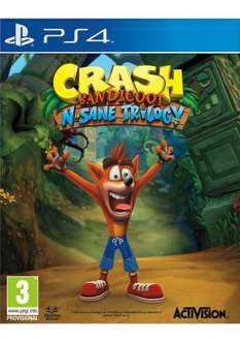 Crash Bandicoot N.Sane Trilogy - [PlayStation 4] @ Simplygames für ca. 34€