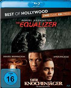 [Amazon Prime] The Equalizer/Der Knochenjäger - Best of Hollywood/2 Movie Collector's Pack [Blu-ray]