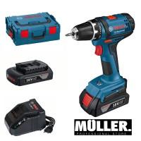 Bosch GSR 18-2 Li plus 2ah Prof - Müller Professional Store