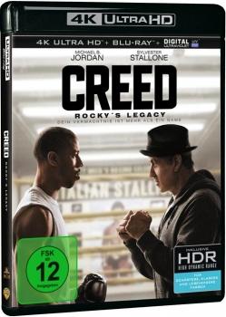 """Creed - Rocky`s Legacy"" als 4k Blu-Ray bei alphamovies für 20,94 inkl. Versand"