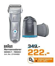 Braun Herrenrasierer Series 7 / 7850cc - Lokal? Saturn Herford
