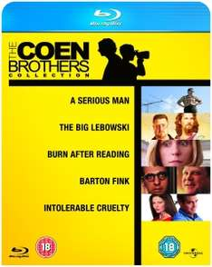 The Coen Brothers Collection (5x Blu-ray) für 11,89€ (Zavvi)