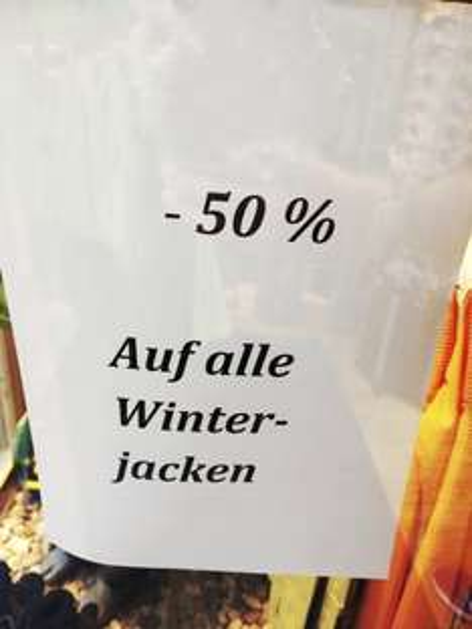[Lokal Goslar] 50% Auf ALLE Winterjacken bei Jack Wolfskin