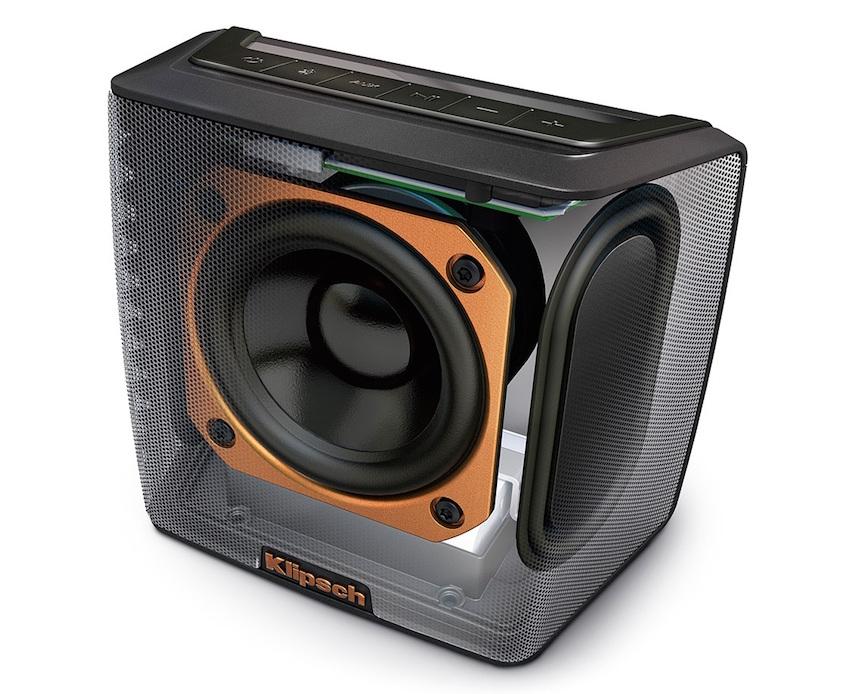 Klipsch Groove für 87,60€ @ Amazon Frankreich - kraftvoller Bluetooth Lautsprecher mit über 8 Stunden Akkulaufzeit