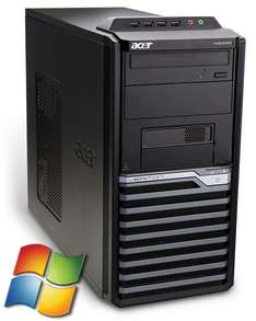 NUR 99,89€ /// Acer Veriton M4610G Tower PC Computer - Intel Core i3 2x 3,3 GHz 4GB RAM 320GB HDD DVD-Brenner - Windows gebraucht Softwarebilliger.de?